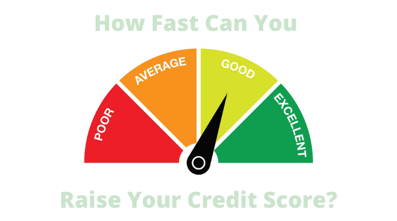 How Fast can You Raise your credit score